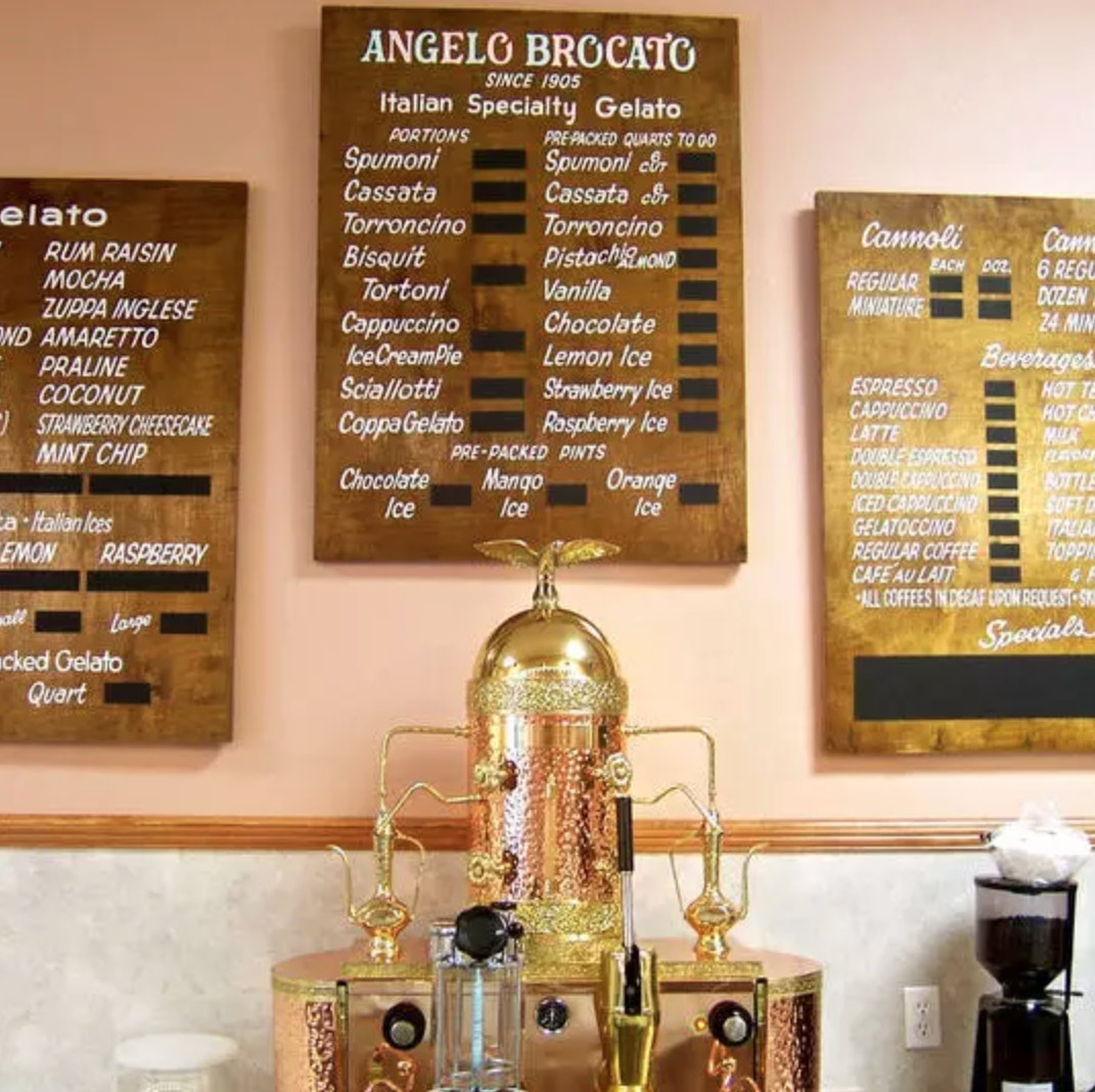 Angelo Brocato's shop